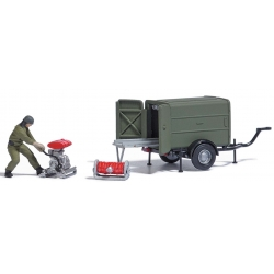 Equipment 1:87 hosetransportanhänger STA with...