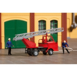 Bausatz 1:87 Multicar M22 Drehleiter, rot