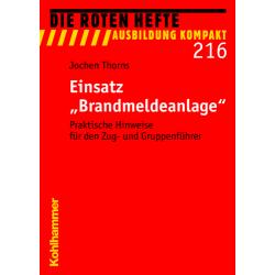 "Libro: rojo Heft 216 ""Einsatz BMA"" - 100 S."