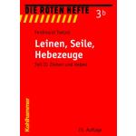 "Libro: rojo Heft 3b ""Leinen,Seile,Hebezeuge"""