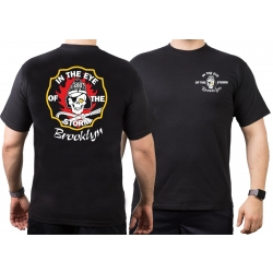 T-Shirt black, New York City Fire Dept. In The Eye Of The...