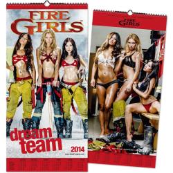 """Kalender 2014 """"Fire Girls""""..."""