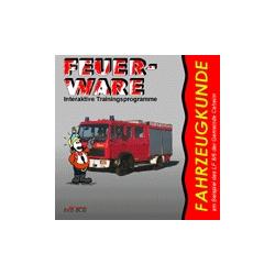 CD-ROM: Fahrzeugkunde LF 8/6, interaktiv