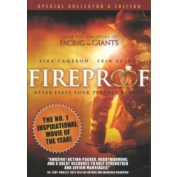 "DVD: ""Fireproof"" FSK:6 J, 122 Min."