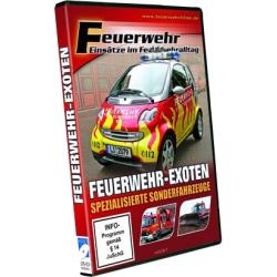 """DVD: """"Feuerwehr-Exoten"""""""