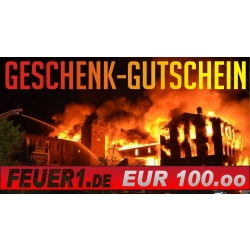 Geschenkgutschein im Wert von EUR 100,00