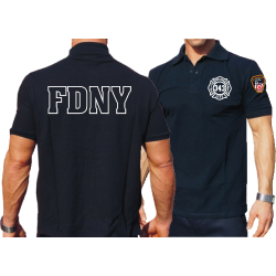 Polo navy, New York City Fire Dept. (Outline) - 343 with...