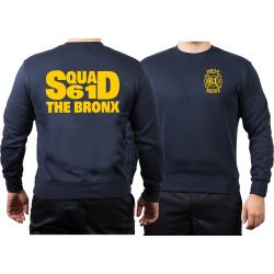 Sweat marin, NYFD Squad 61 The Bronx