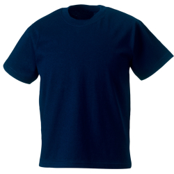 Kinder-T-Shirt marin, Rückentext: KINDERFEUERWEHR o.a.
