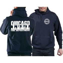 CHICAGO FIRE Dept. Skyline, navy Hoodie
