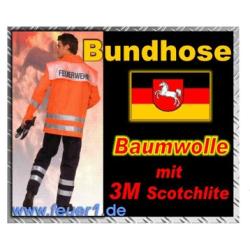 FW-Bundhose Niedersachsen, Baumwolle