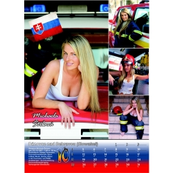 Kalender 2015 Feuerwehr-Frauen - das Original (15. Jahrgang)