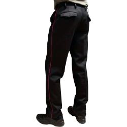 Uniformhose, BaWü with karmesinred Biese, 55/45