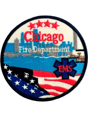 Abzeichen: Chicago Fire Dept. EMS