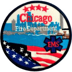 Patch Chicago Fire Dept. EMS