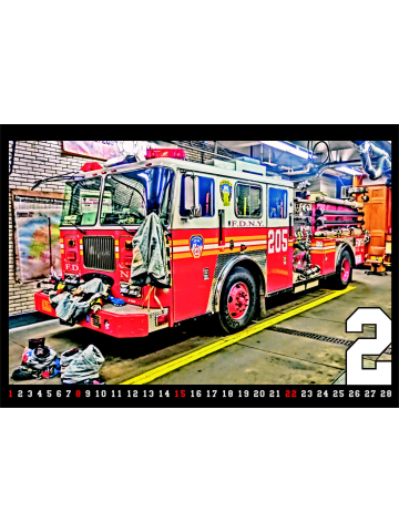 Kalender 2015 New York City Fire Dept. (3. Jahrgang) - limitiert