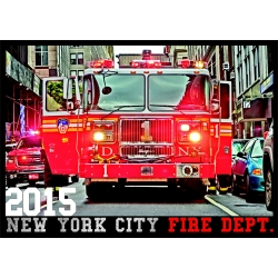 Kalender 2015 New York City Fire Dept. FDNY (3. Jahrgang)...