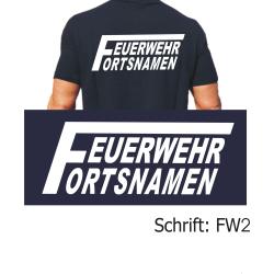 """Polo Schrift """"FW2"""" mit Ortsnamen"""