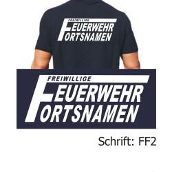 """Polo Schrift """"FF2"""" (grosses F mit neg. FW) mit..."""