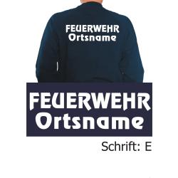 """Sweat mit Schriftzug """"E"""" mit Ortsnamen"""