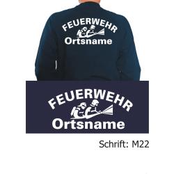 """Sweat mit Schriftzug """"M22"""" (Atemschutztrupp)..."""