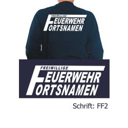 """Sweat mit Schriftzug """"FF2"""" (mit grossem F) mit..."""