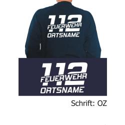 """Sweat mit Schriftzug """"OZ"""" (112 FEUERWEHR) mit..."""