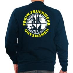 Sweat mit negativem Logo, FREIW. FEUERWEHR und Ortsnamen...