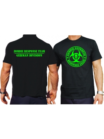 T-Shirt (black) Zombie Outbreak Response Team