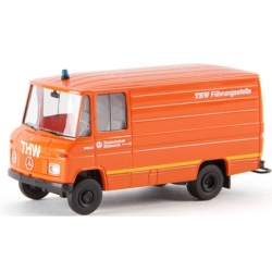Model car 1:87 MB L 406 Kasten THW