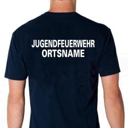 "T-Shirt marin, police de caractère ""A""..."