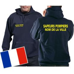 Sweat á capuche (navy/bleu-marine) Sapeurs...