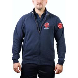 CHICAGO FIRE Dept. Sweat jacket navy, Paramedic II,...