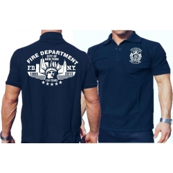 Polo navy, New York City Fire Dept.150 years 1865-2015
