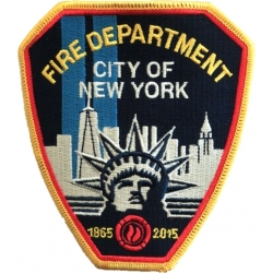 Patch 150 Jahre New York City Fire Dept. 1865-2015