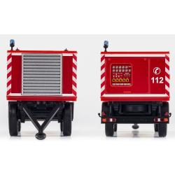 Modell 1:87 Anhänger Polyma/Kluth 175 KVA Feuerwehr