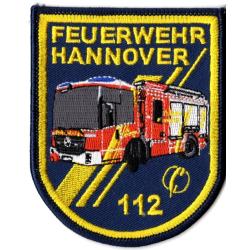 Patch Feuerwehr Hannover HLF20 (8 x 10 cm), SammlerPatch...