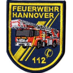 Patch Feuerwehr Hannover DLK (8 x 10 cm), SammlerPatch...