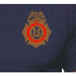 T-Shirt navy, New York City Fire Dept. BFI (Bureau of...