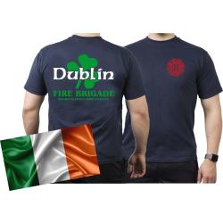 T-Shirt navy, Dublin Fire Brigade (IRL)
