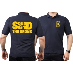 Polo navy, New York City Fire Dept. Squad 61 The Bronx
