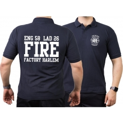 Polo navy, New York City Fire Dept.Fire Factory Harlem...