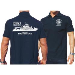 "Polo navy, FDNY, Marine 9 ""Firefighter II""..."