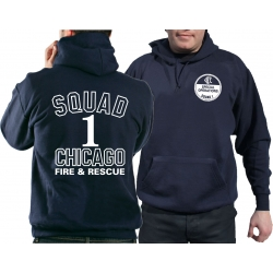 CHICAGO FIRE Dept. Squad1 Special Operations, navy Hoodie