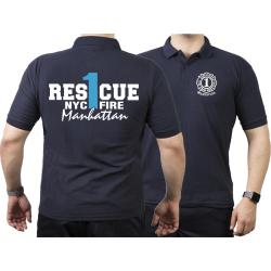 Polo navy, Rescue1 (blue) Manhattan