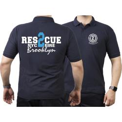 Polo navy, Rescue2 (blue) Brooklyn