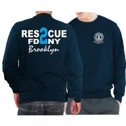 Sweat navy, Rescue2 (blue) Brooklyn