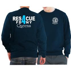Sweat navy, Rescue4 (blue) Queens