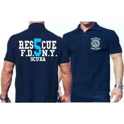 Polo navy, Rescue5 (blue) Staten Island