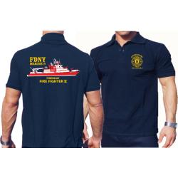 "Polo navy, Marine 9 ""Firefighter II"" mehrfarbig"
